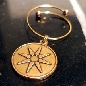Alex And Ani Sun Star Charm Women Ring Rafaelian G